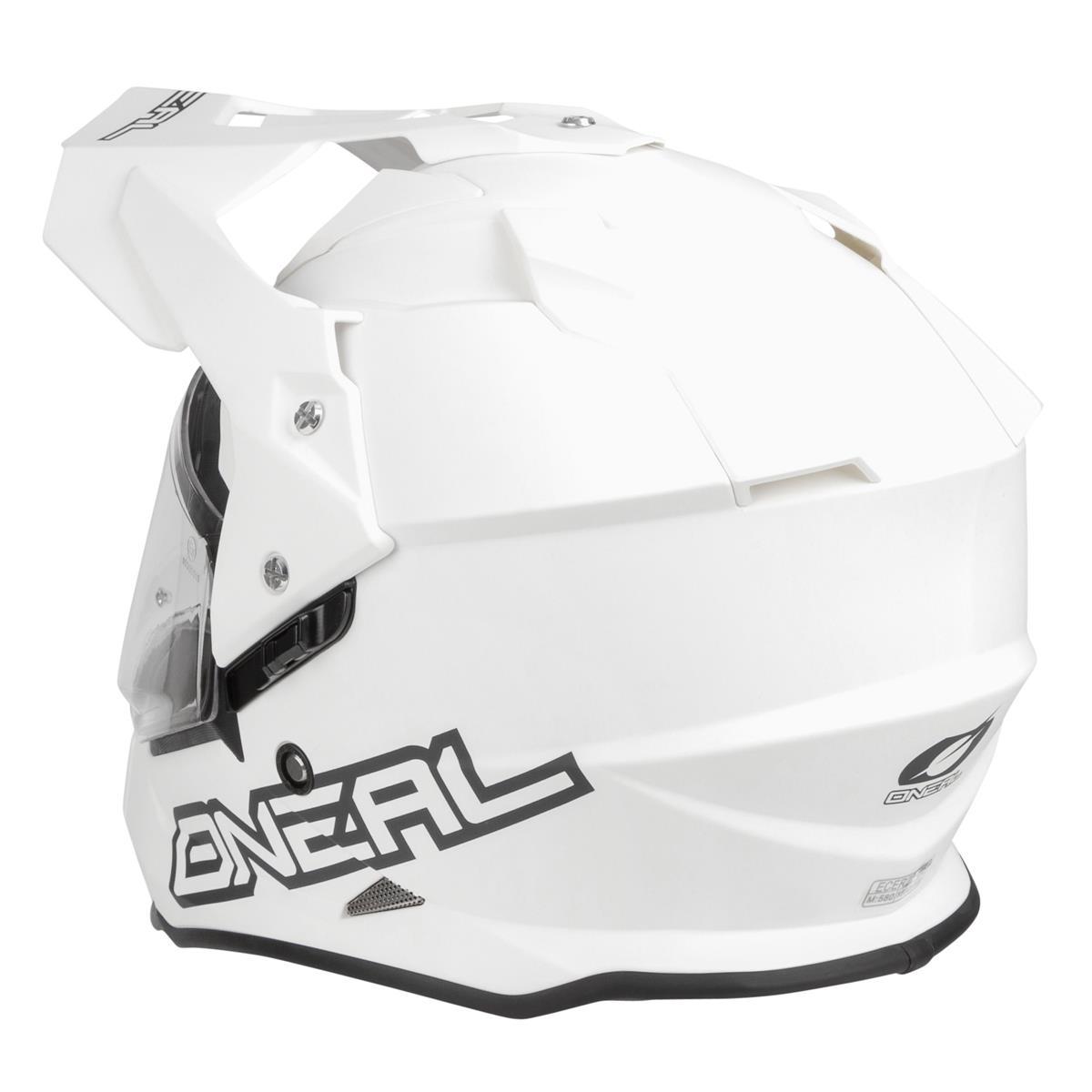 O/'Neal Helm Sierra II Flat Weiß
