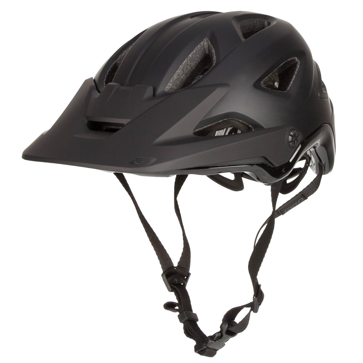 Radsport Giro Enduro-MTB Helm Montaro MIPS Matt/Gloss Schwarz