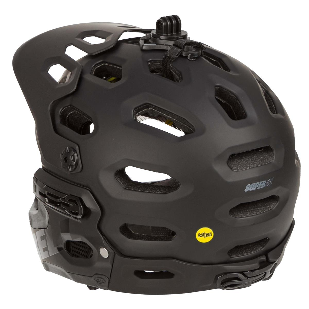 Bell Downhill-MTB Helm Super 3R MIPS Matt Black//Grey