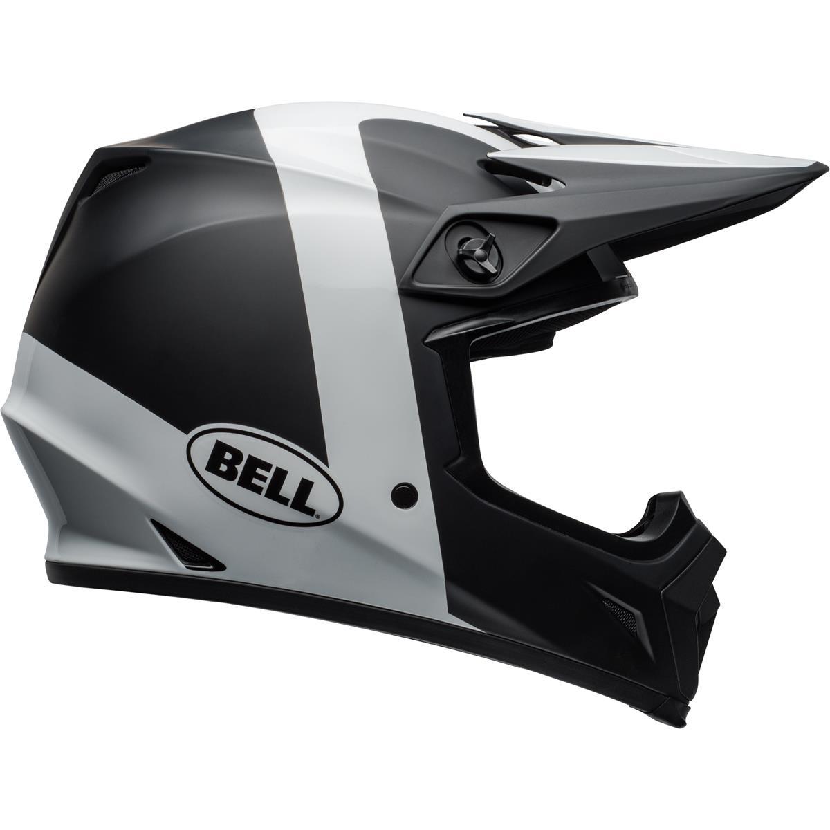 CASCO Bell mx-9 MIPS Presence-Nero//Bianco