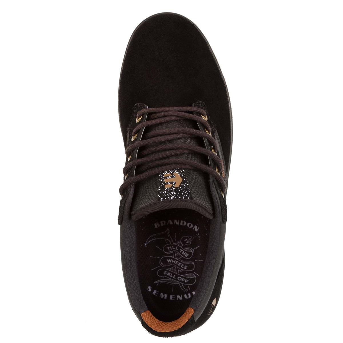 Etnies zapatos Jameson mid Crank negro