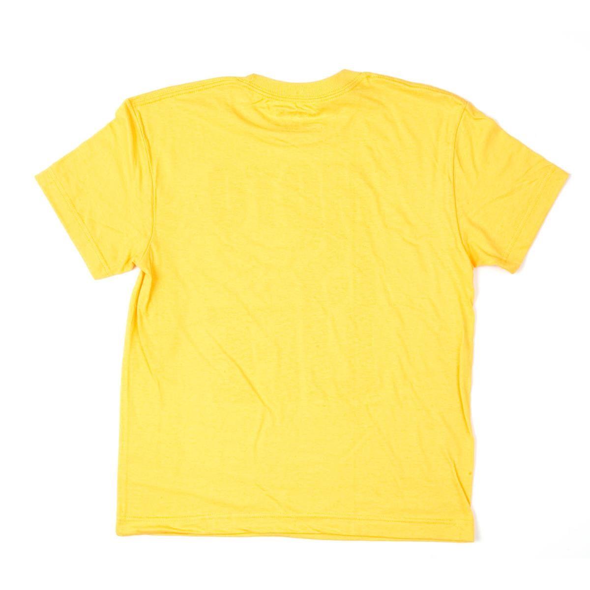 Fox kids t shirt moto is life yellow maciag offroad for Yellow t shirt for kids