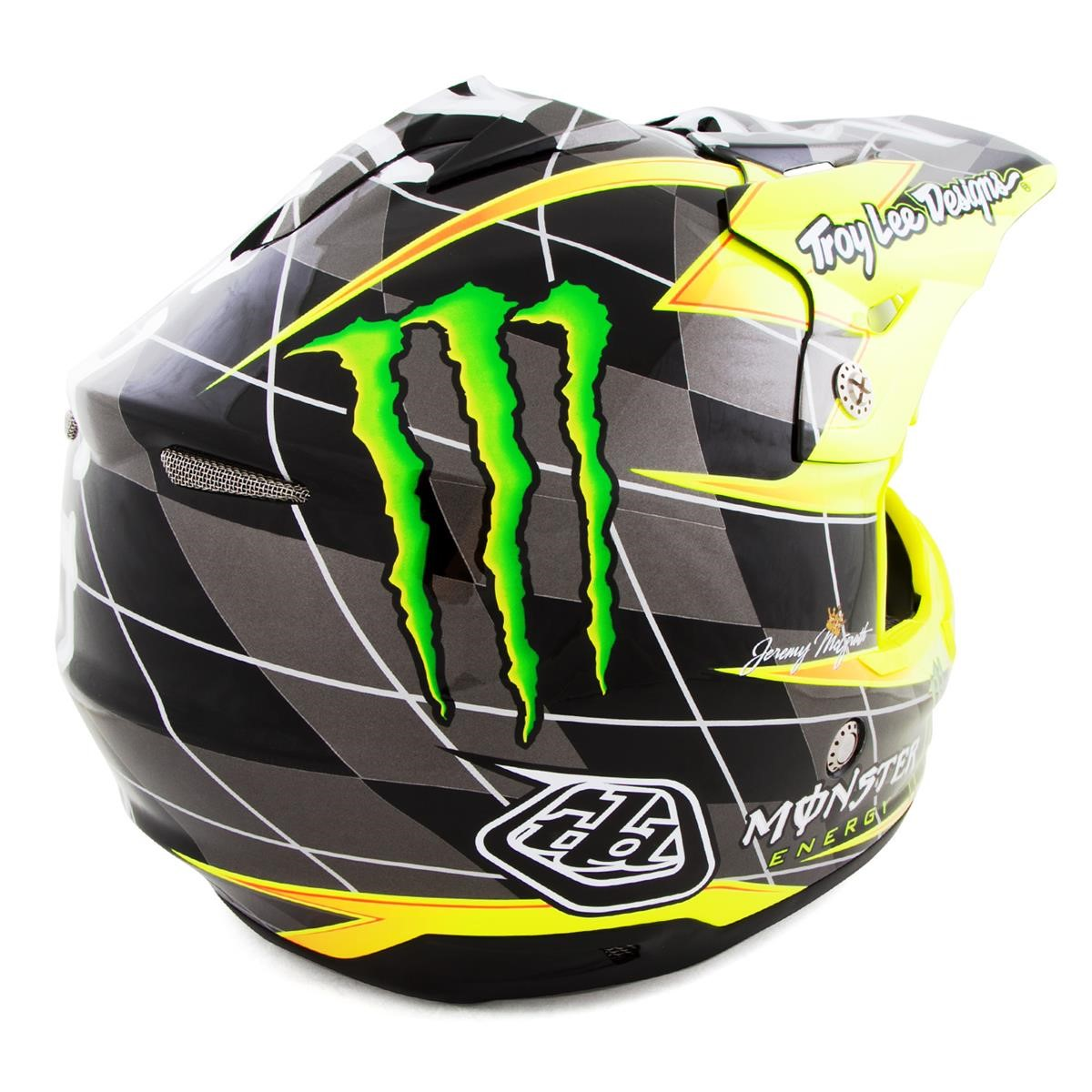 Troy lee designs motocross helm air strike rot der tld air for Helm design