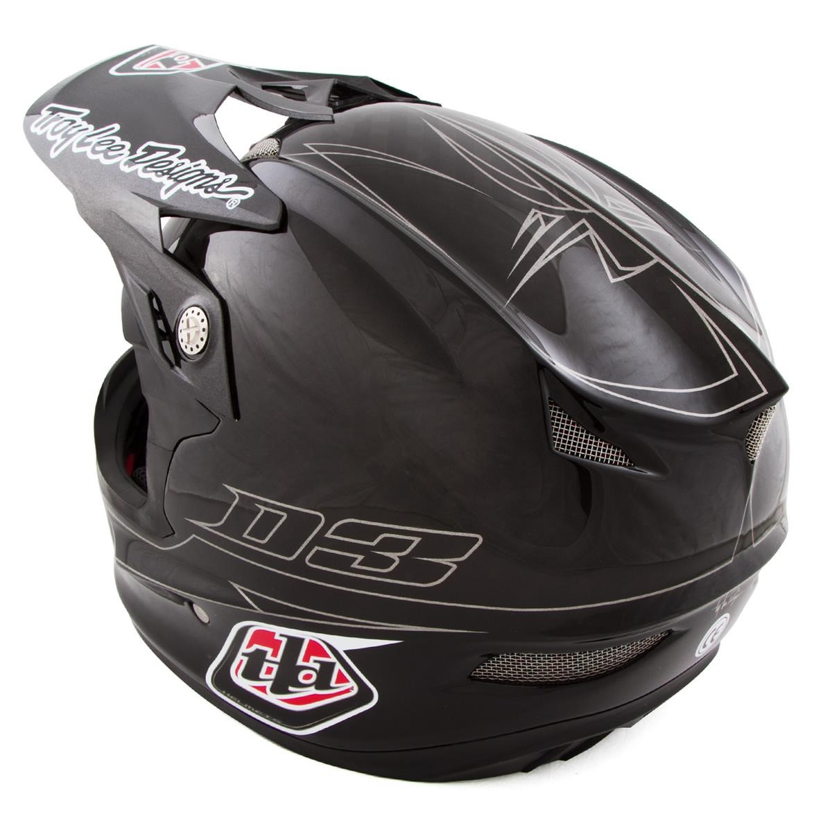 Pin troy lee designs capacete d3 carbon medusa preto for Helm design