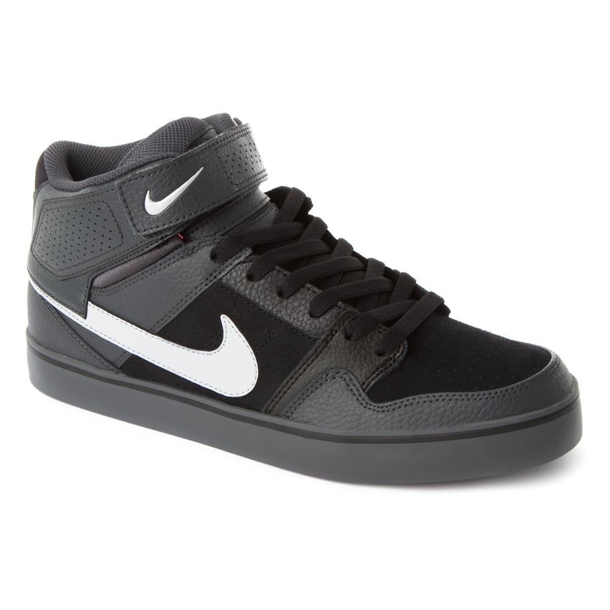 nike schuhe mogan mid 2 se anthracite metallic silver. Black Bedroom Furniture Sets. Home Design Ideas