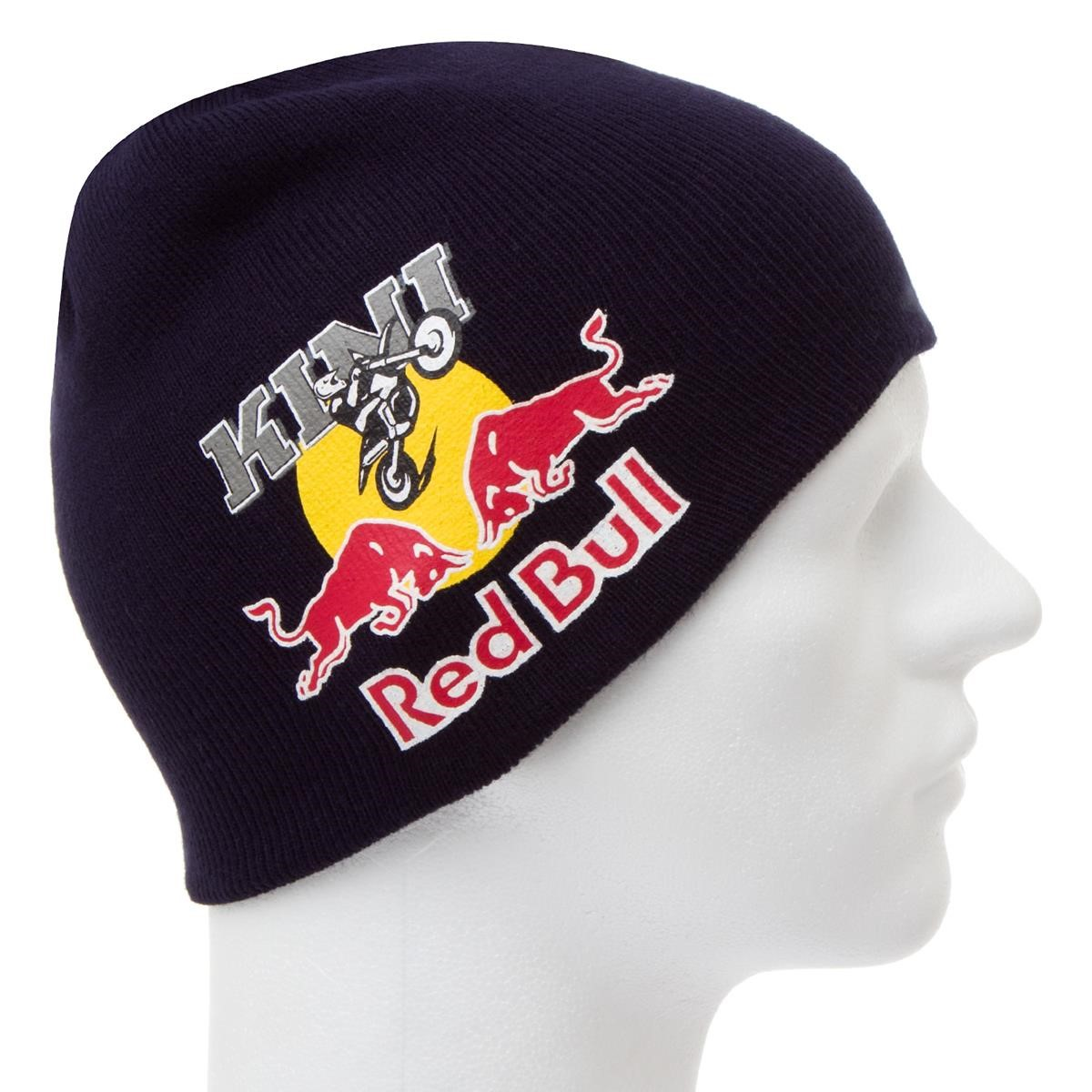 kini red bull beanie m tze double face navy grey wendbar. Black Bedroom Furniture Sets. Home Design Ideas