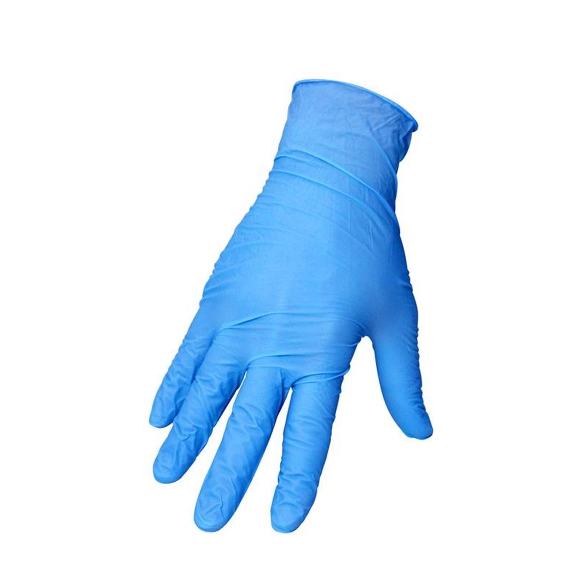Motion Pro Nitril-Handschuhe Blau, 50er Pack, 0.8 mm