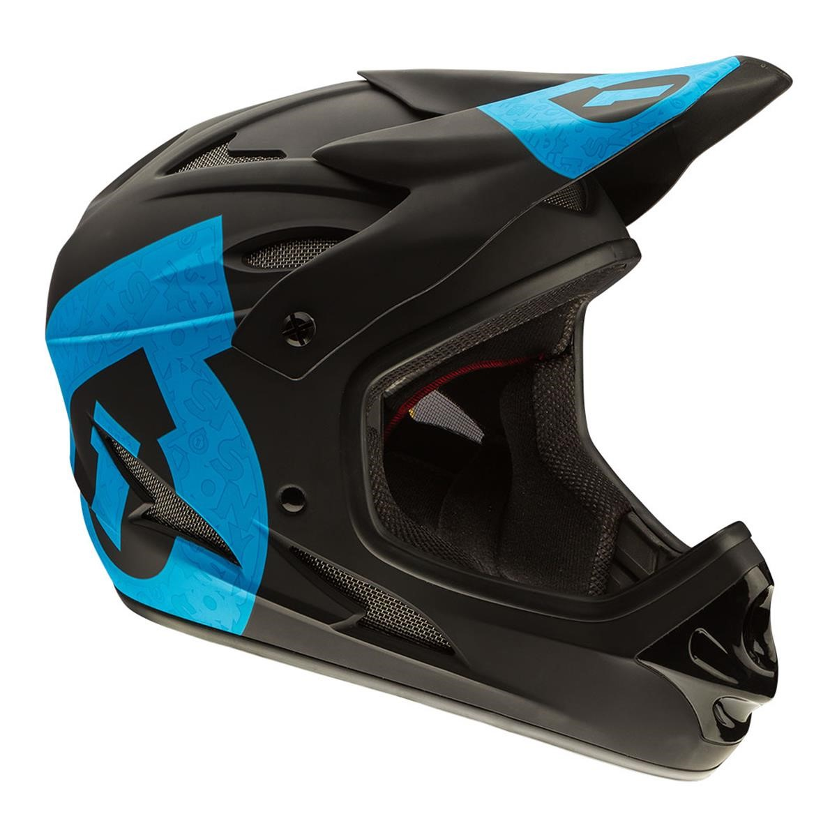 sixsixone downhill helm mtb downhill freeride bmx 661 comp. Black Bedroom Furniture Sets. Home Design Ideas