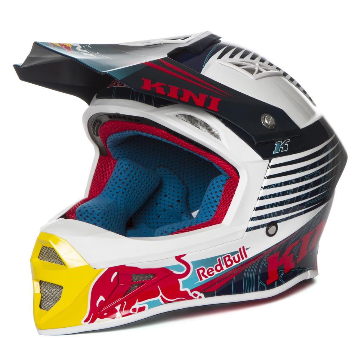 Kini Red Bull Helm Competition Navy/Weiß 210856421 32