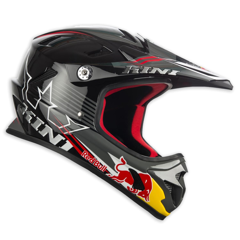 Kini Red Bull Downhill-MTB Helm MTB 17 Schwarz 248546626 316