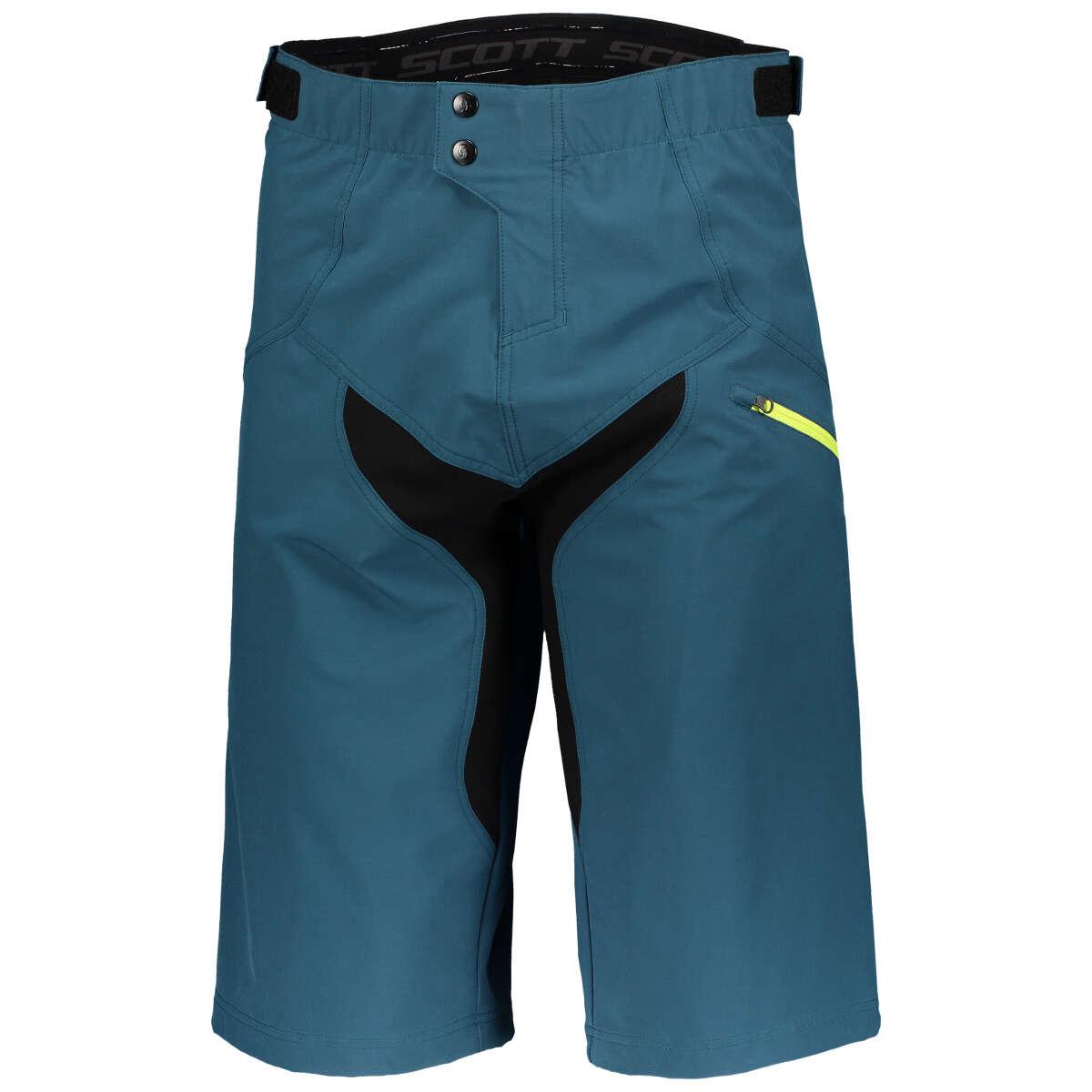 Scott Bike Short Trail DH Lunar Blue//Sulphur Yellow