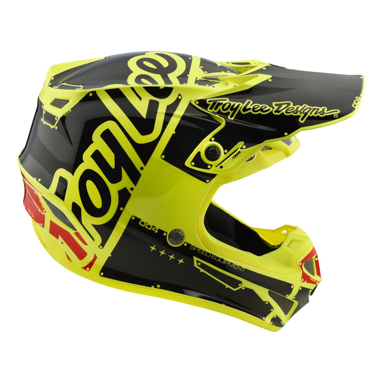 Troy-Lee-Designs-Helm-SE4-Polyacrylite-MIPS-Factory-Gelb