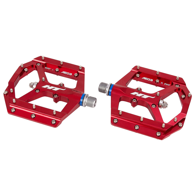 HT Components Pedale AE 03, Einheitsgröße, Rot