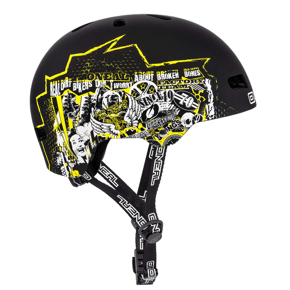 Gelb O'Neal BMX/Dirt Helm Dirt Lid ZF Rift Radsport