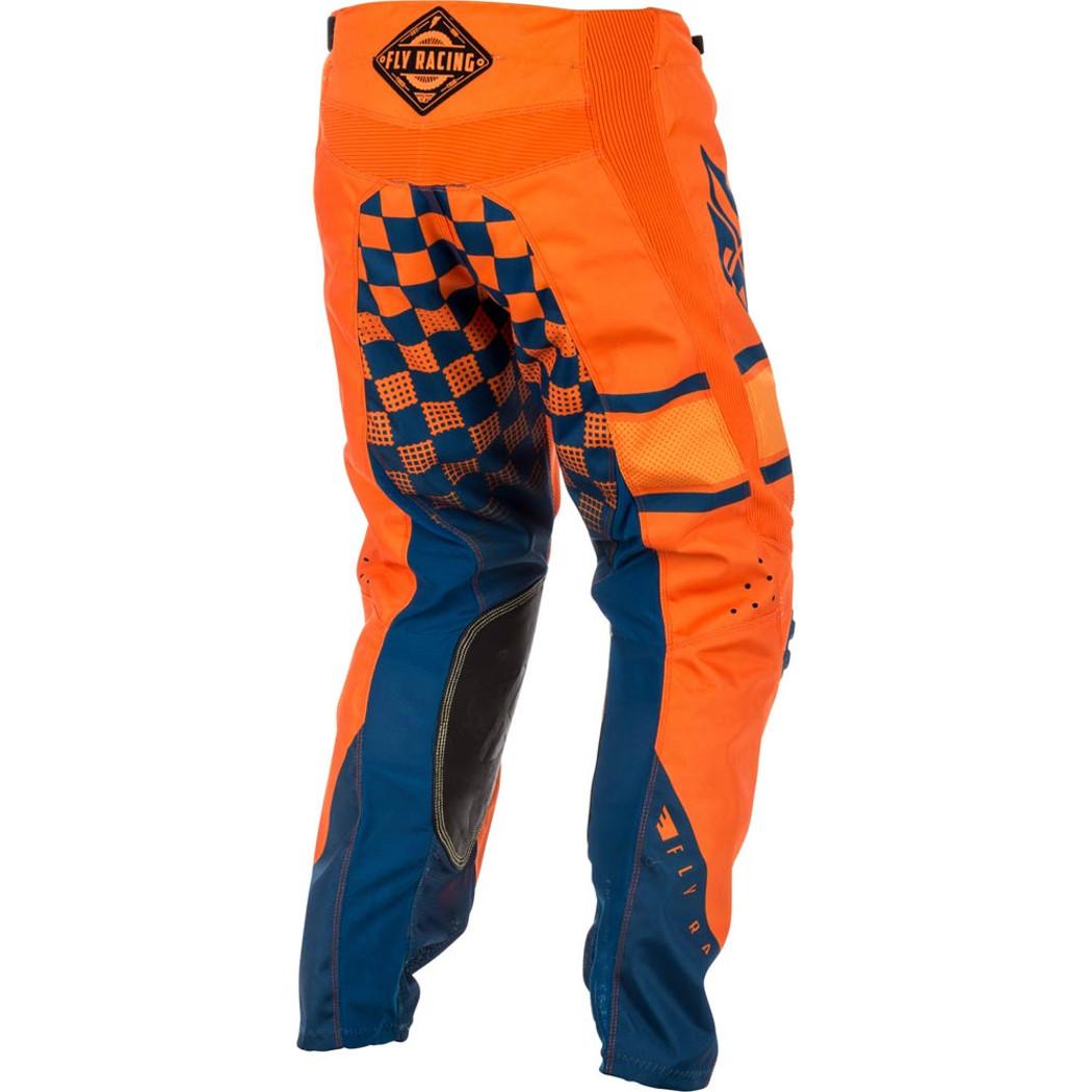 Fly Racing Cross Hose Kinetic Era Orange//Navy