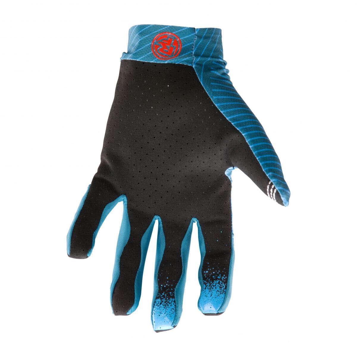 Race Face Bike-Handschuhe Indy Lines Blau
