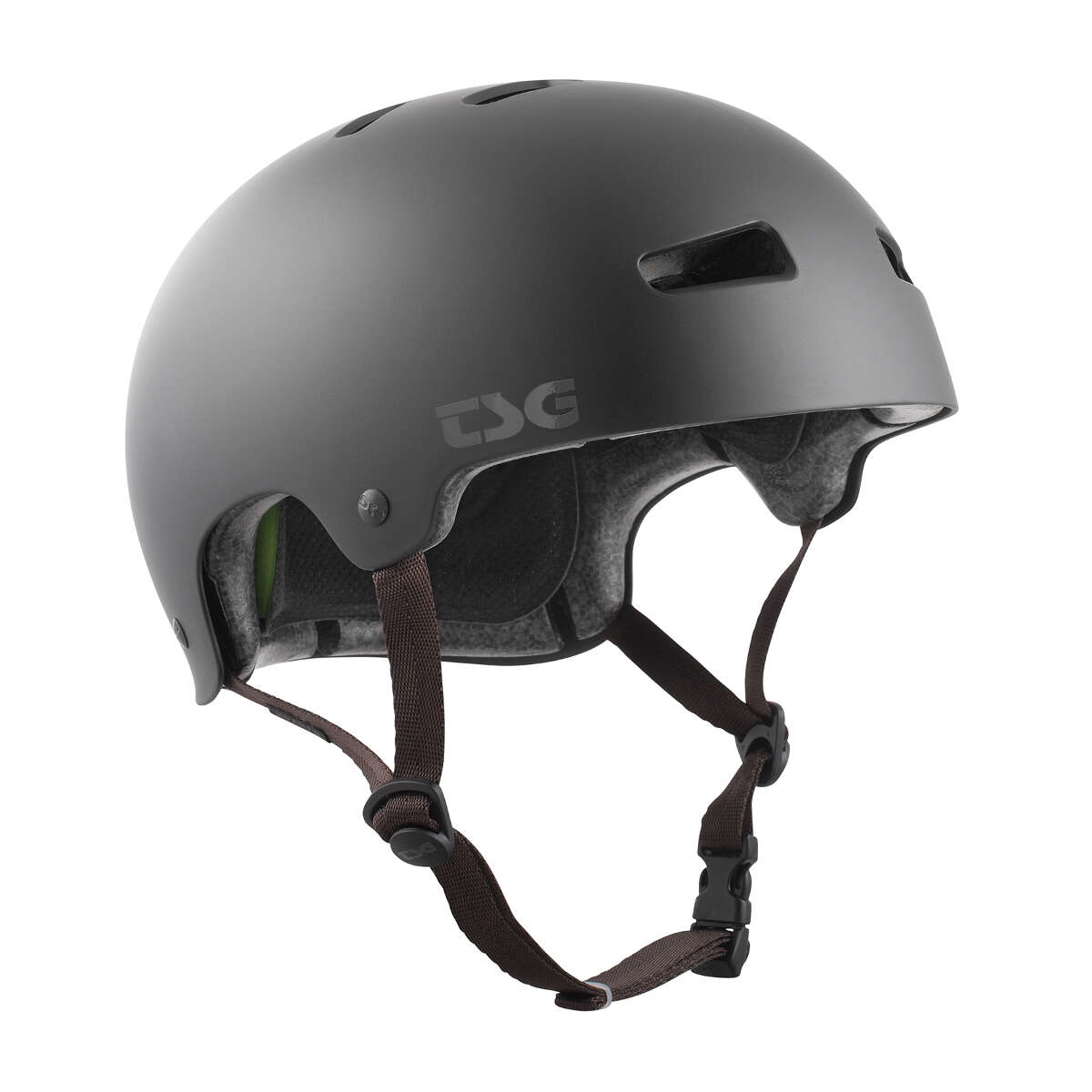 TSG Bmx//Dirt Casque Kraken Solid Color-Satin Black