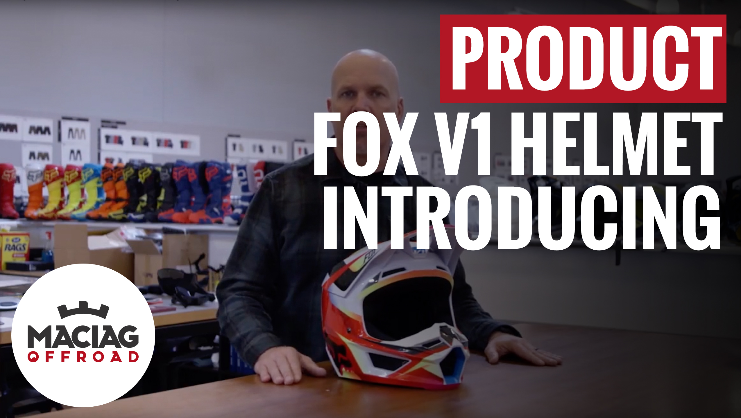 Introducing Fox V1 Helmet