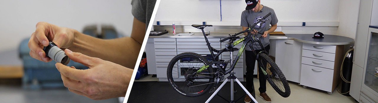 MTB Fork-Tuning with Volume Spacers