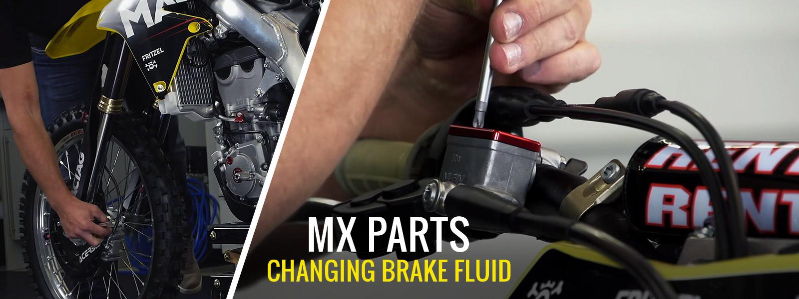 Changing Motocross & Enduro Brake Fluid
