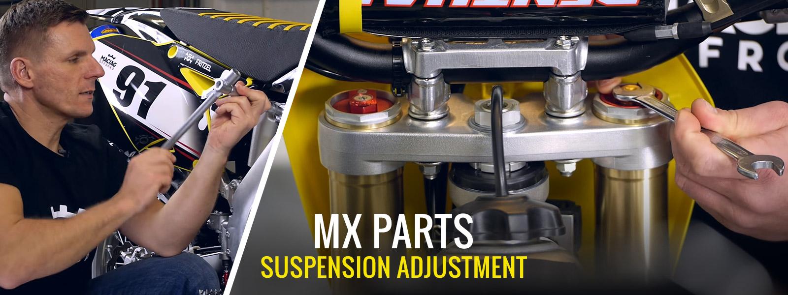 MX & Enduro Suspension Adjustment