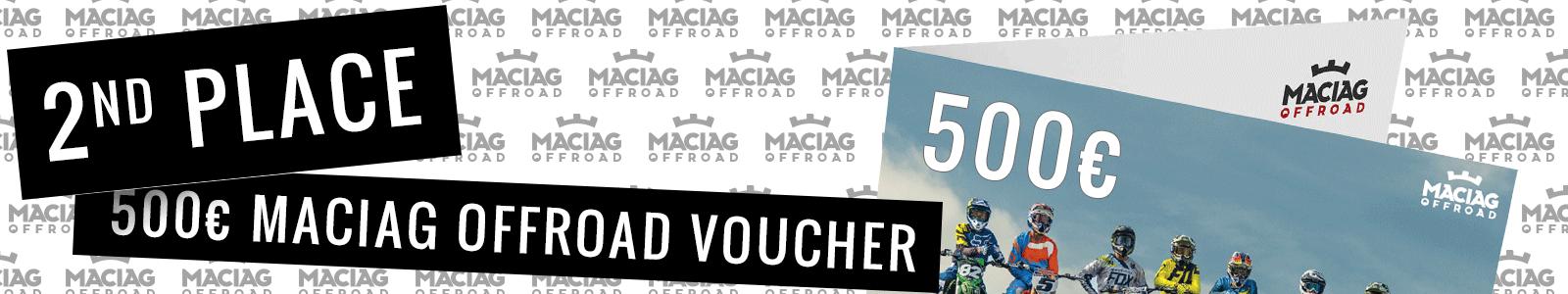 2nd Place MACIAG OFFROAD voucher