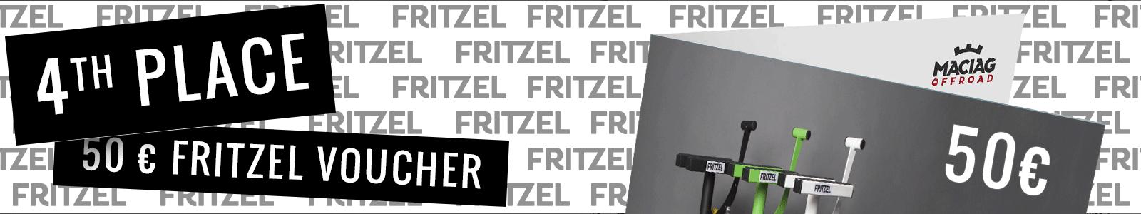 4th Place FRITZEL voucher