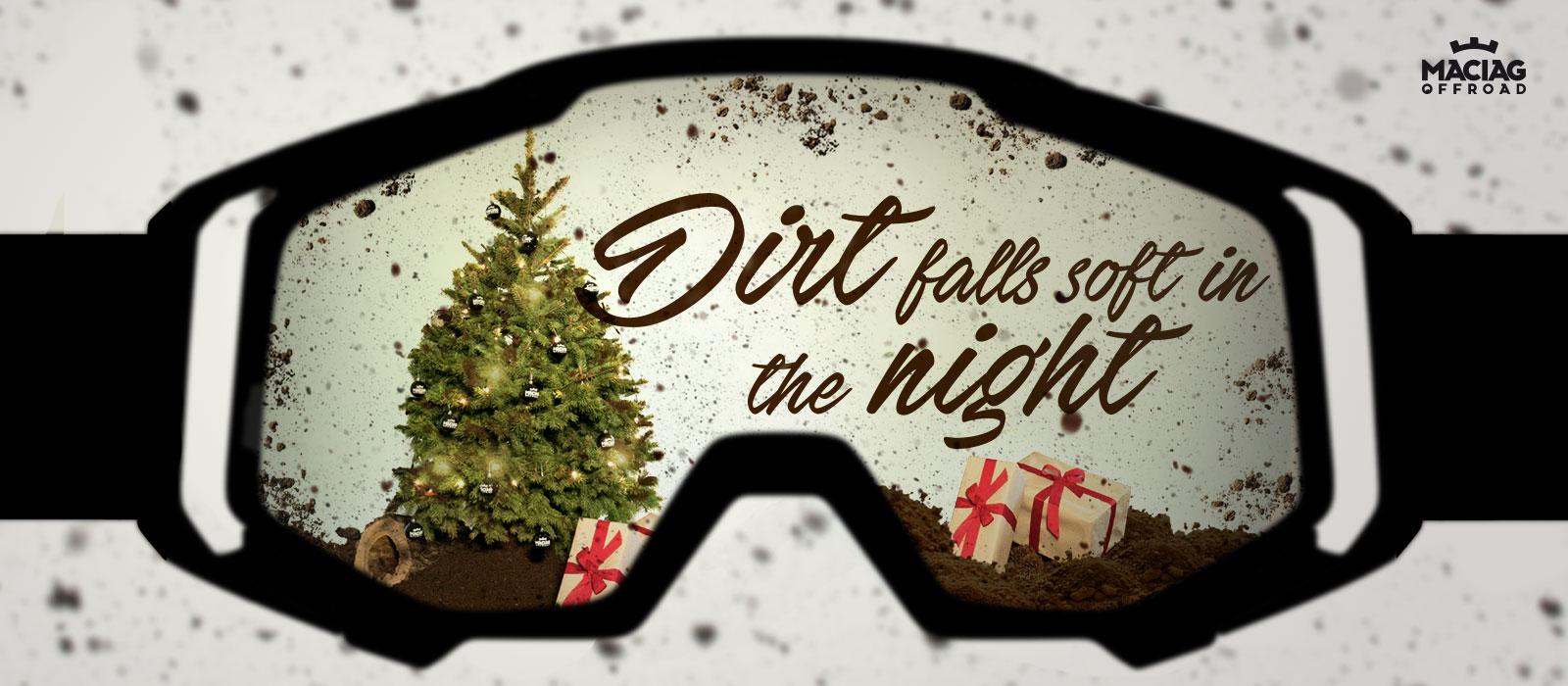 Christmas 2017 Motocross & Mountain bike Dirt falls soft in the night Wallpaper