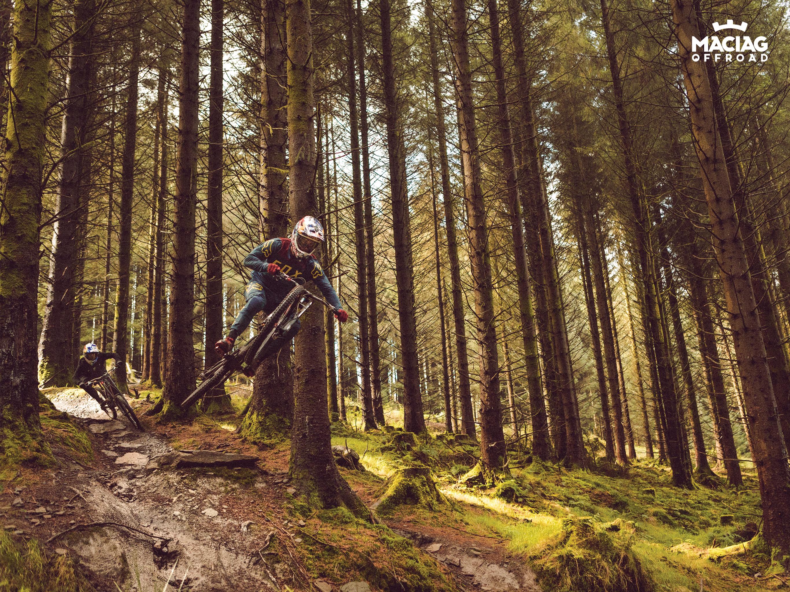 Free Motocross Mountainbike Wallpaper