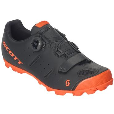 Scott MTB Shoes Elite Boa Matte BlackNeon Orange