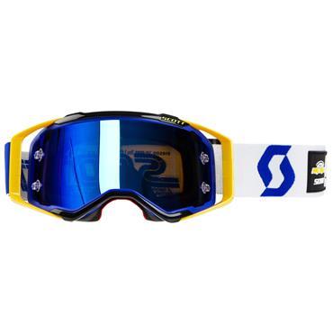 Scott Goggle Prospect Pro Circuit 30 Years Blue/Yellow- Blue Chrome Works | Maciag Offroad