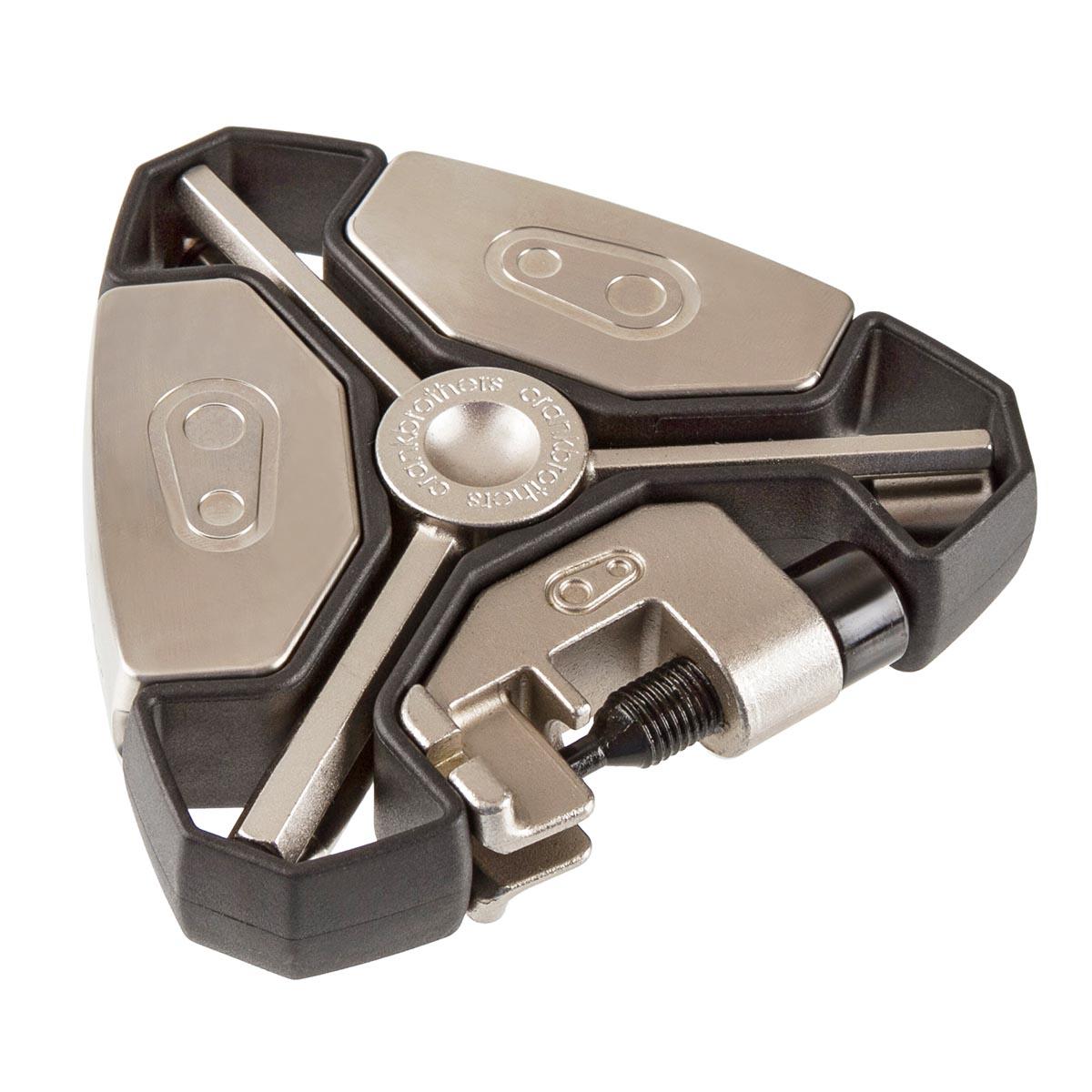 Crankbrothers Multi-Tool Y-15 Schwarz/Silber