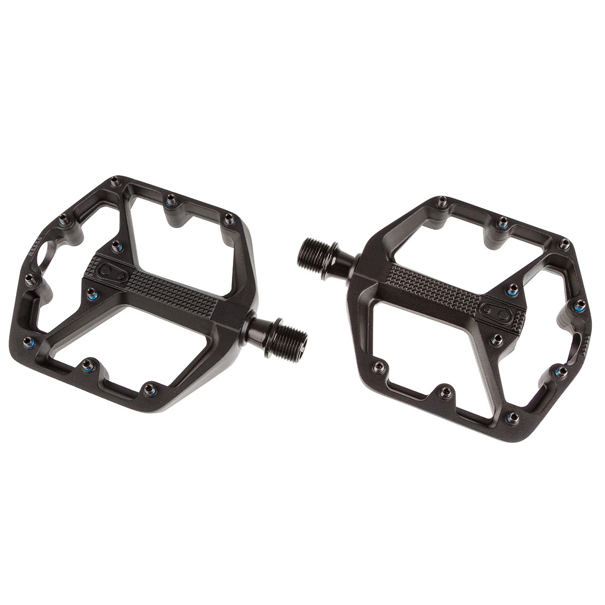 Crankbrothers Pedale Stamp 3 Schwarz, Small