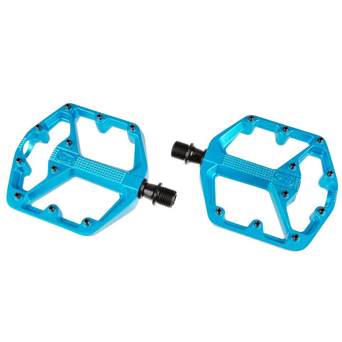 Crankbrothers Pedale Stamp 3 Blau, Small