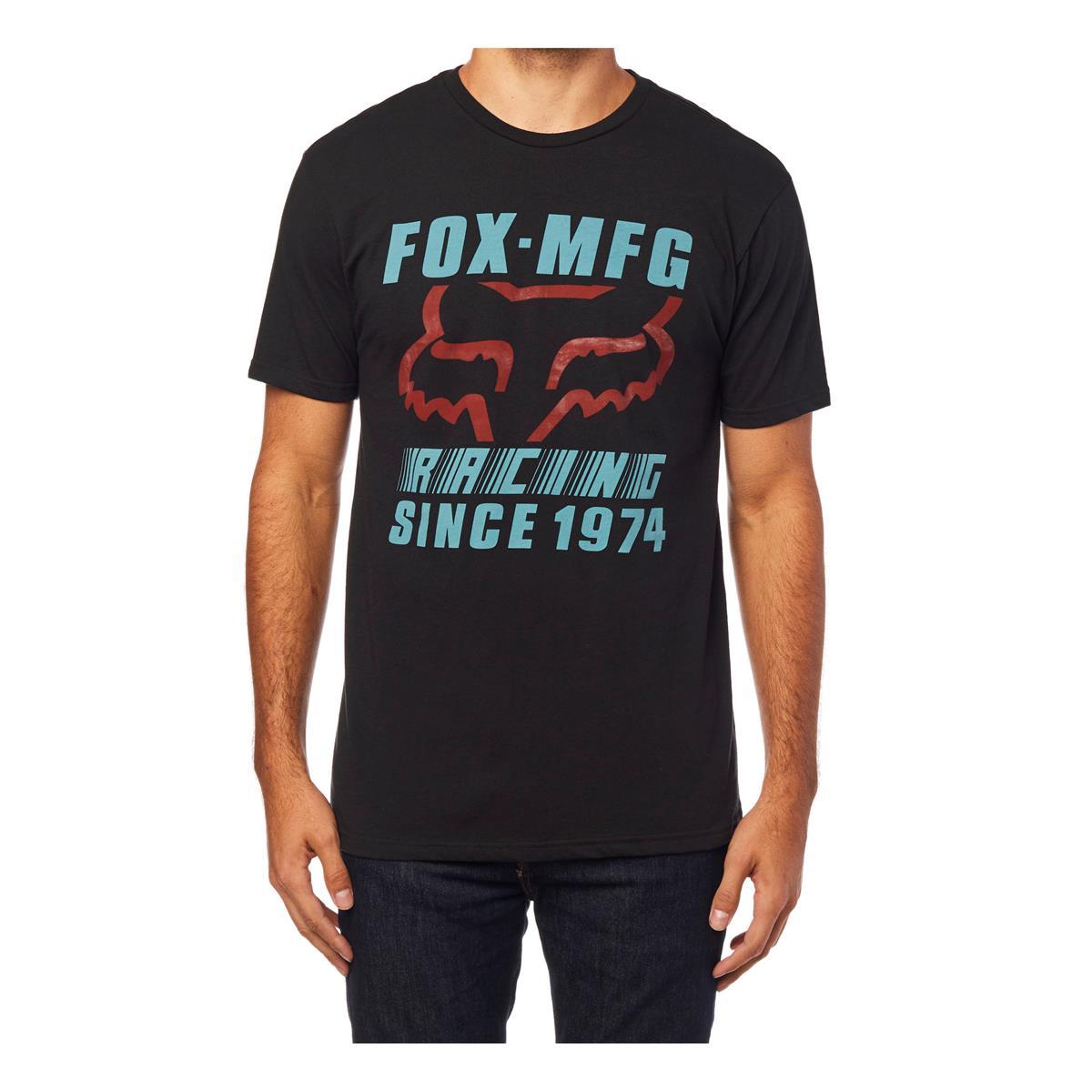 Fox T-Shirt Zoomin Schwarz