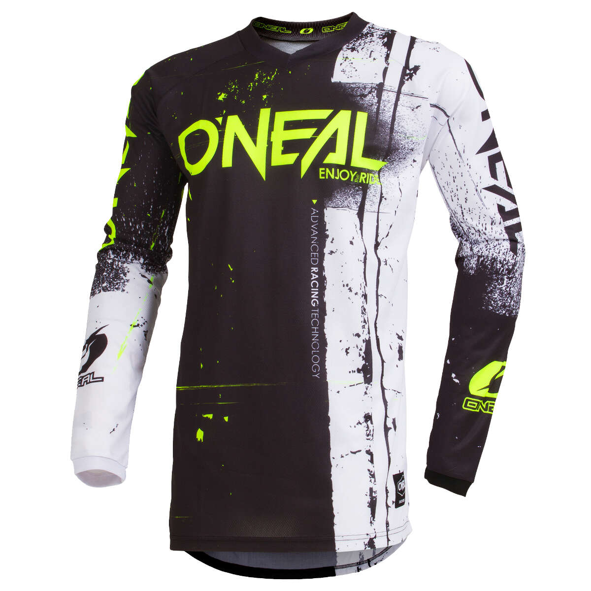 O'Neal Jersey Element Shred Schwarz