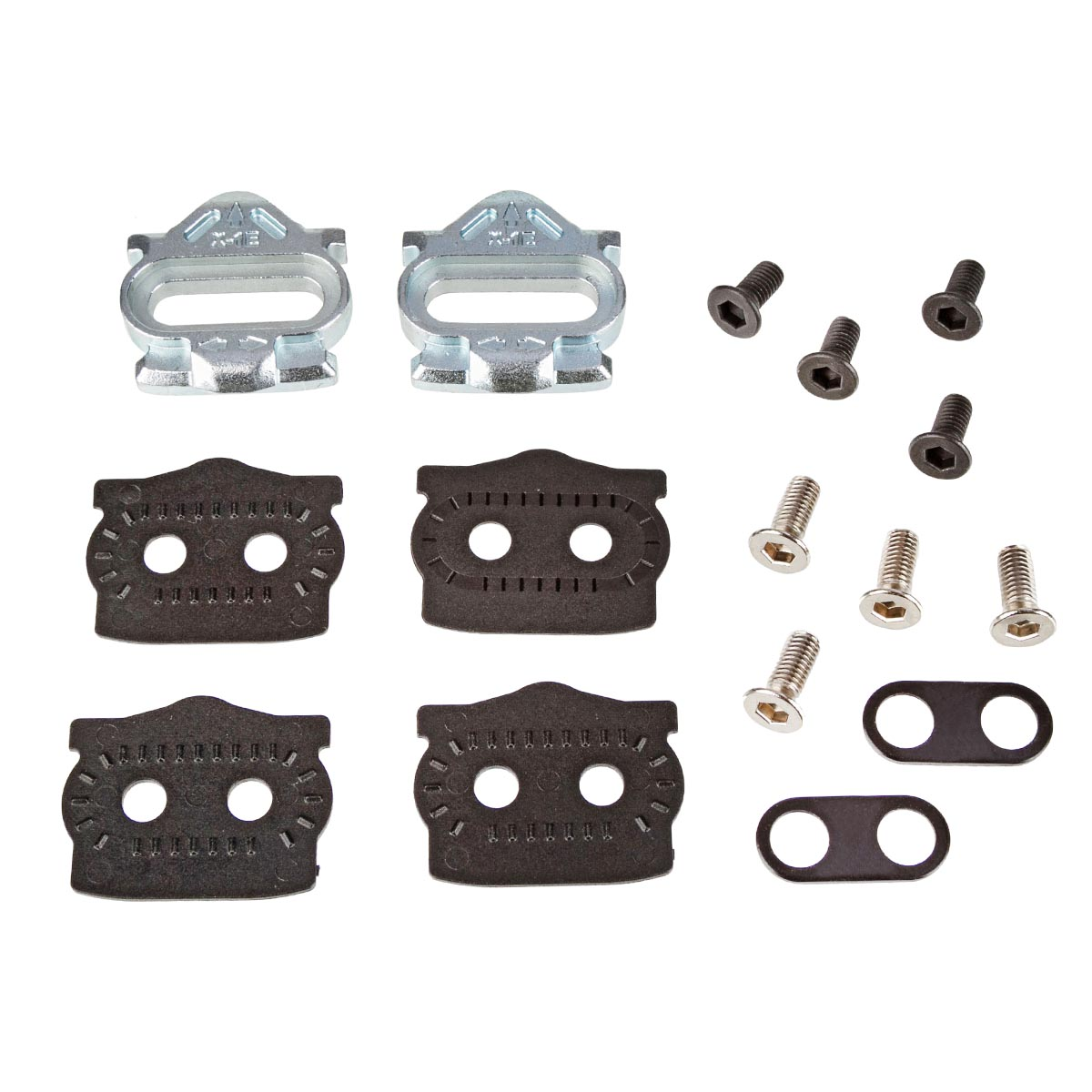 HT Components Cleat-Kit X1E Silber