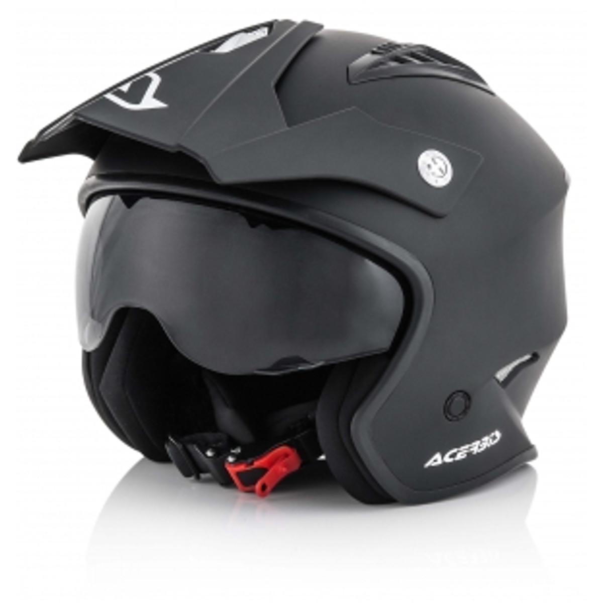 Acerbis Trial-Helm Jet Aria Schwarz