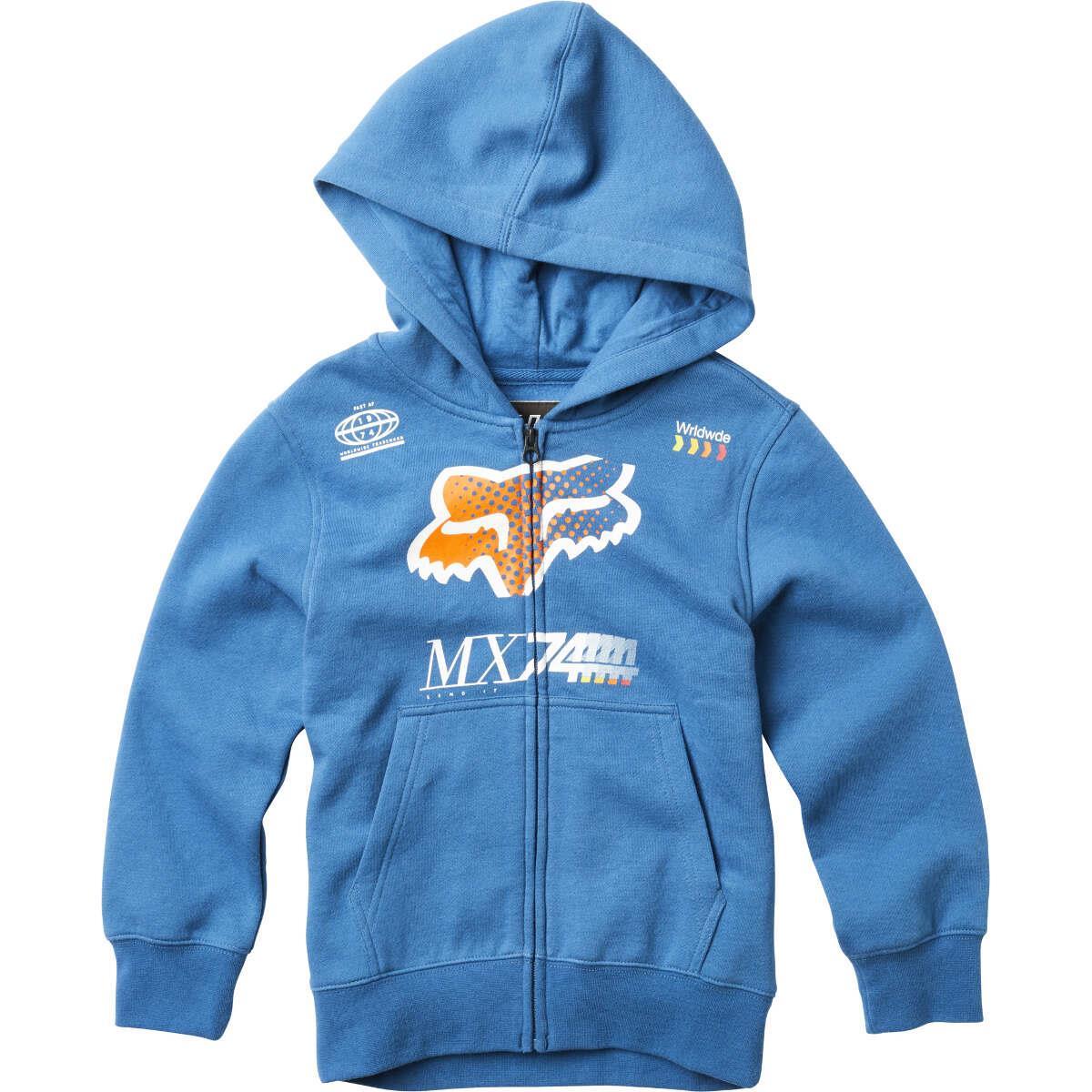 Fox Kids Zip-Hoody Backdrafter Dusty Blue