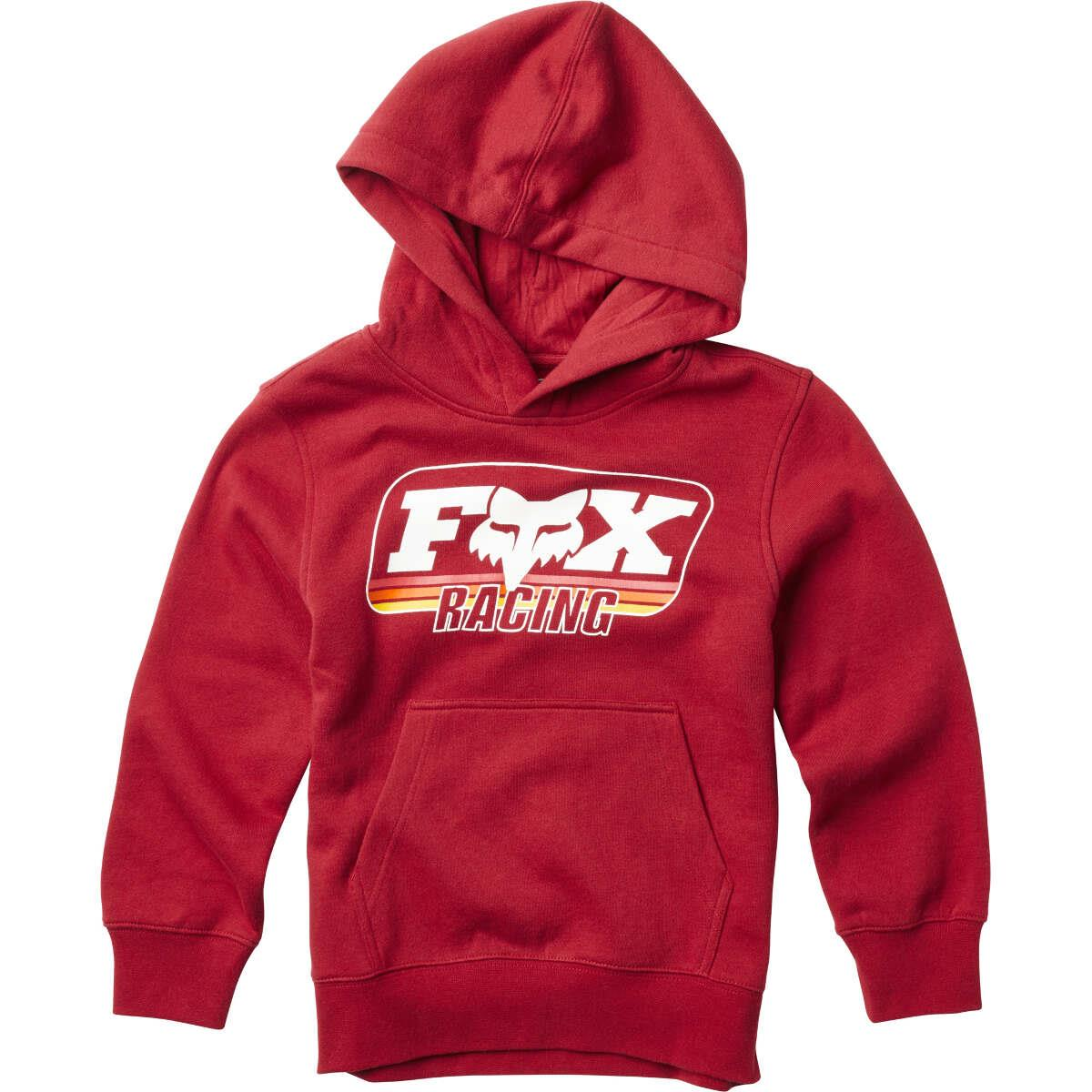 Fox Kids Hoody Throwback Cardinal