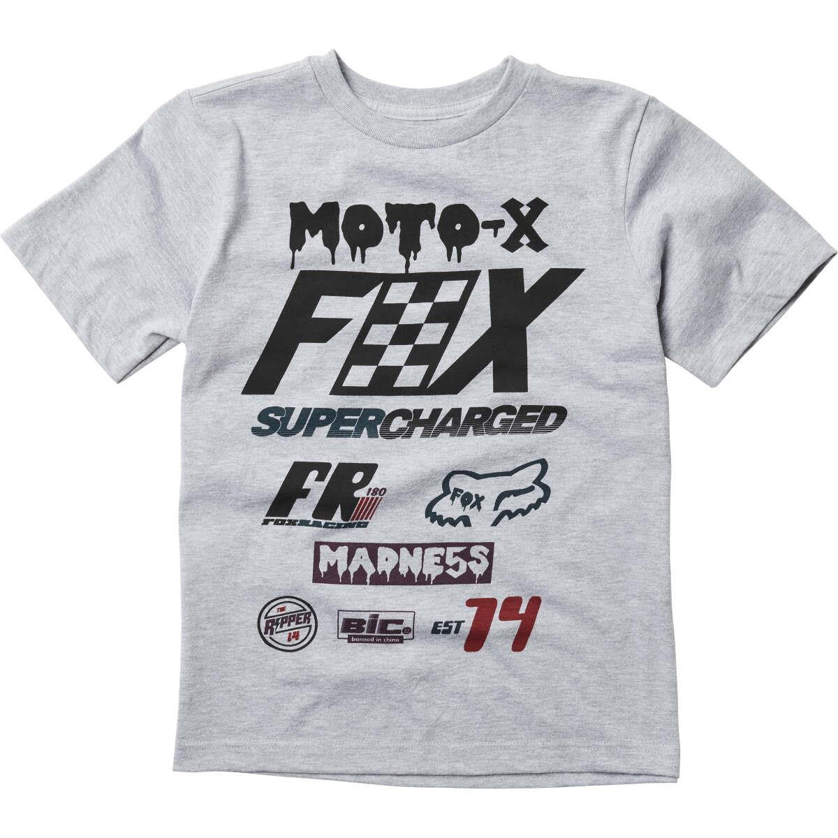 Fox Kids T-Shirt Czar Light Heather Grey