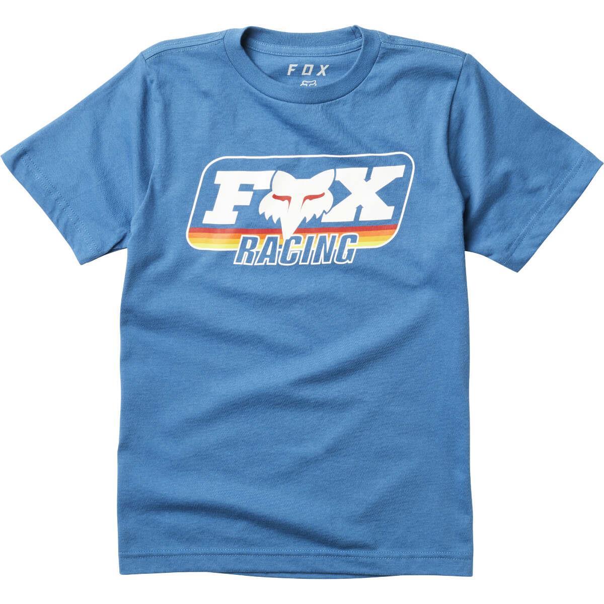 Fox Kids T-Shirt Throwback Dusty Blue