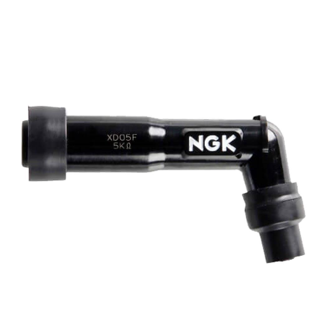 NGK Zündkerzenstecker  XD05F, 102 Grad, Schwarz