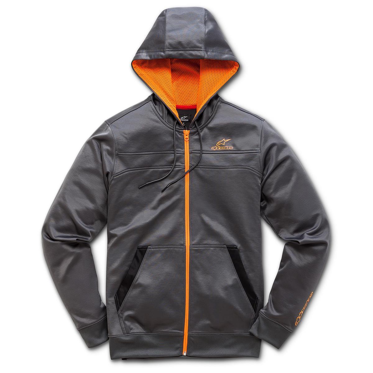 Alpinestars Zip-Hoody Freeride Charcoal