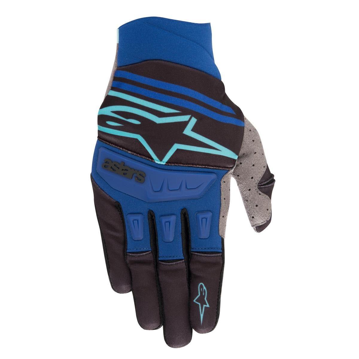 Alpinestars Handschuhe Techstar Schwarz/Türkis/Blau