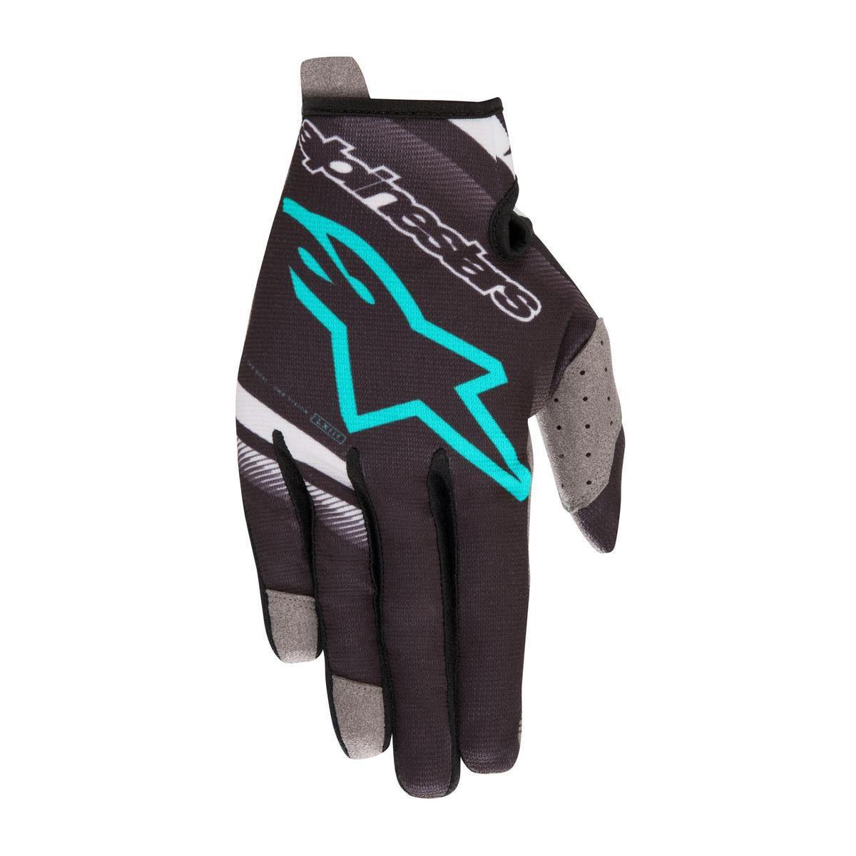 Alpinestars Handschuhe Radar Schwarz/Teal