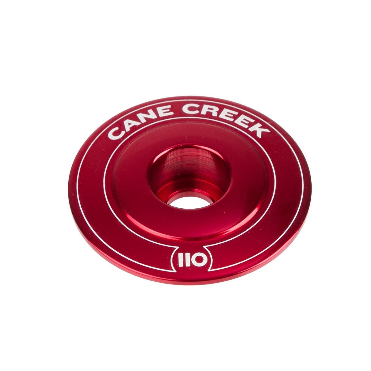 Cane Creek Ahead Kappe 110 Rot, Aluminium, 1 1/8 Zoll