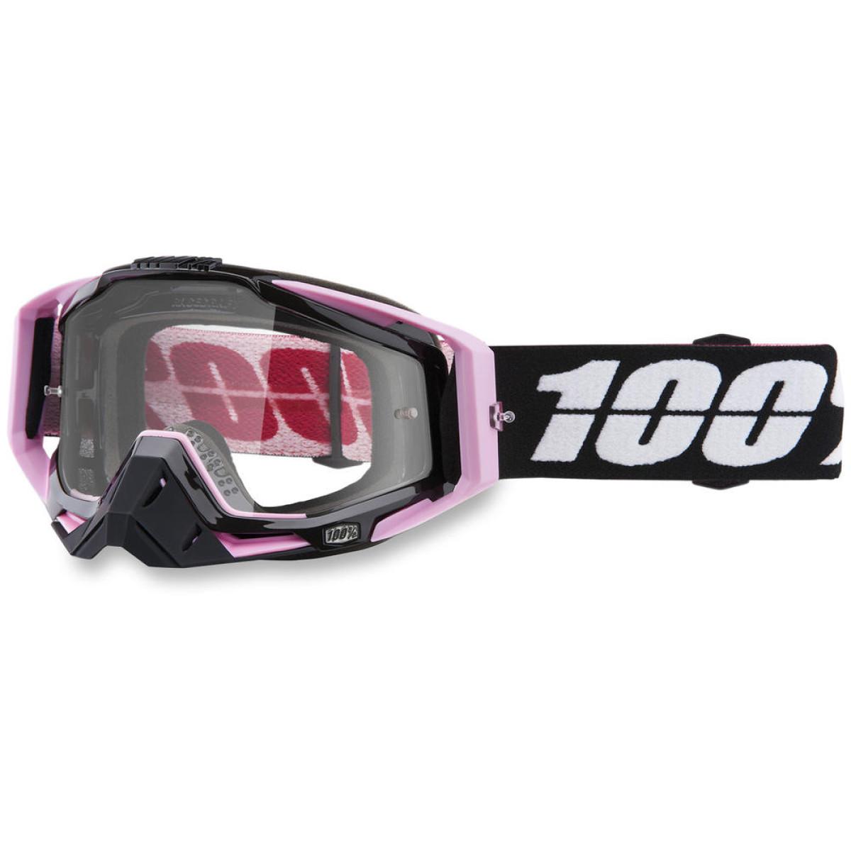 100% Crossbrille The Racecraft Floyd - Klar