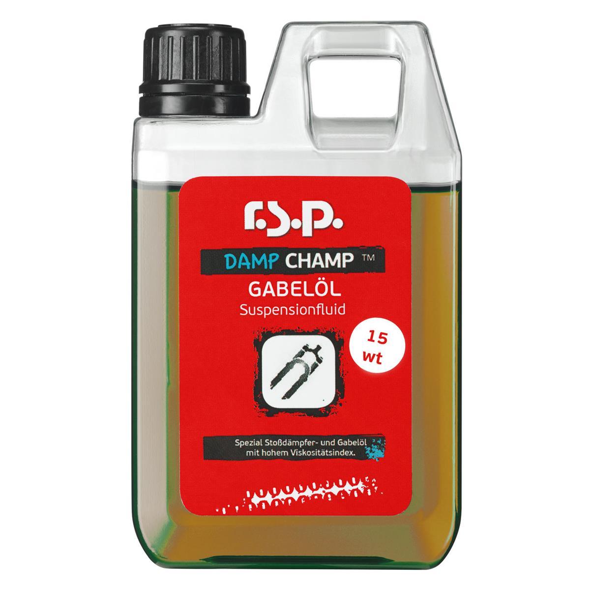 r.s.p. Gabel- und Dämpferfluid Damp Champ 15 WT, 250 ml