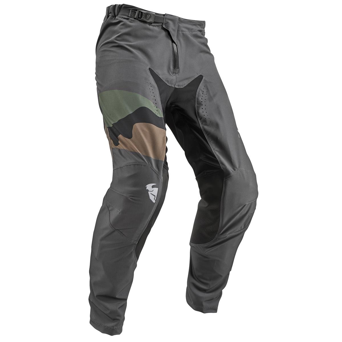 Thor Cross Hose Prime Pro Fighter - Charcoal/Camo